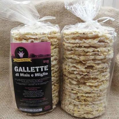 Gallette mais e miglio