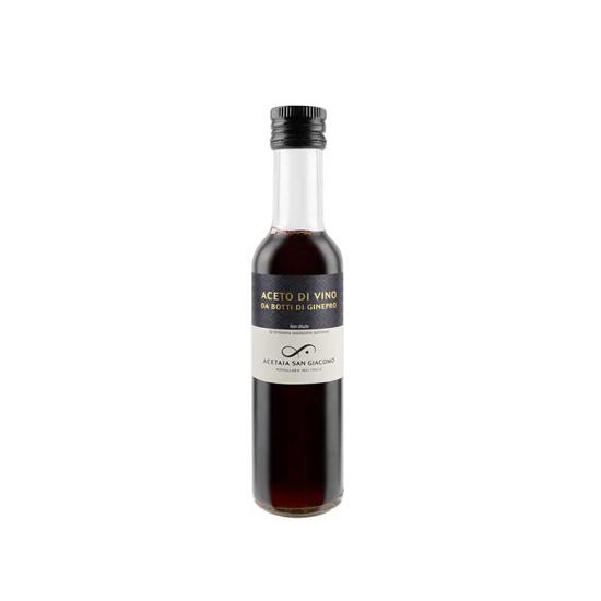 Aceto di Vino artigianale  da botte di Ginepro 250 ml